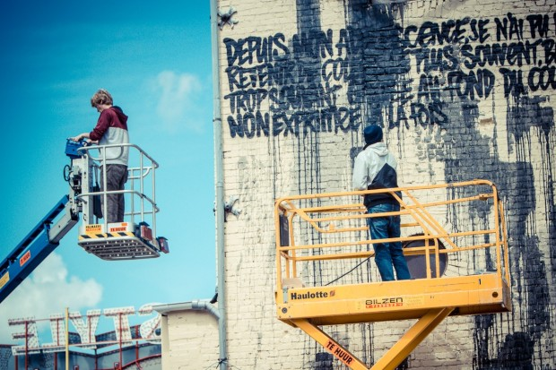 graffititoren Bilzen