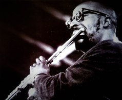 Fluittist Yusef Lateef op Jazz Bilzen 1966