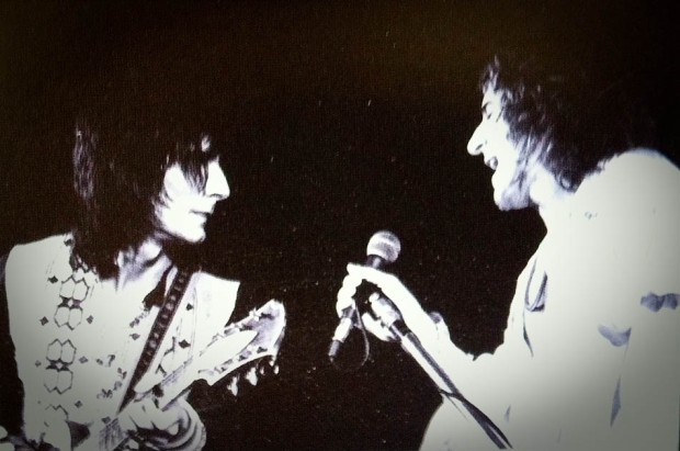 Jazz Bilzen '74 - Ron Wood & Rod Stewart