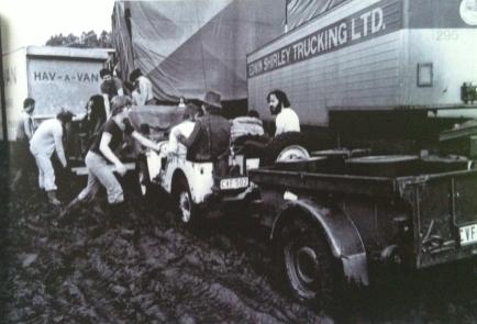 Jazz Bilzen '77 in de modder