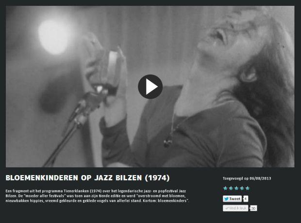 Bloemenkinderen op Jazz Bilzen