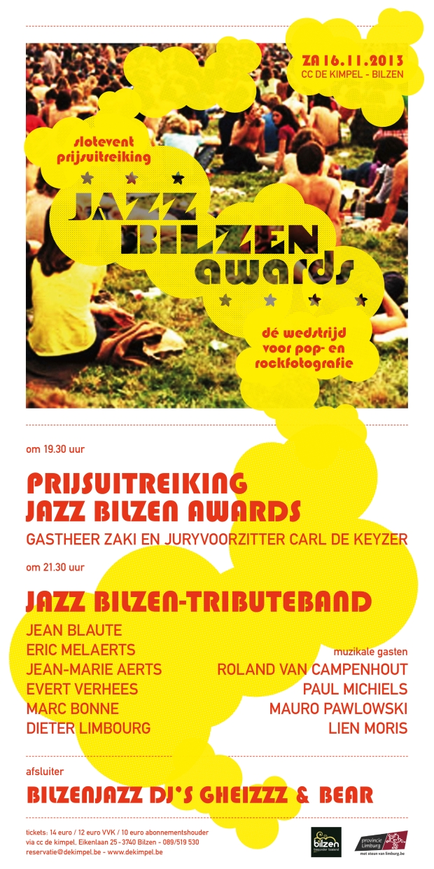 Jazz Bilzen Awards 2013
