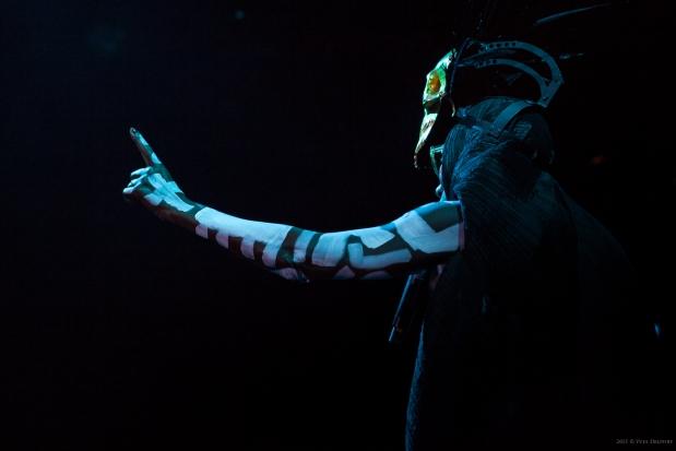 Cactus festival 2015 - Grace Jones - (c) Yves Delport voor daMusic