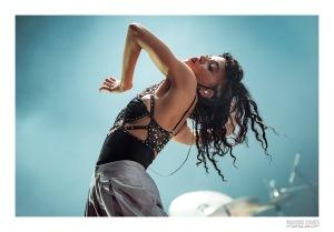 Rock Werchter 2015 - Xavier Marquis voor Indiestyle - FKA Twigs